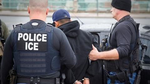 PBS NewsHour -- Half targeted by ICE had traffic convictions or no record