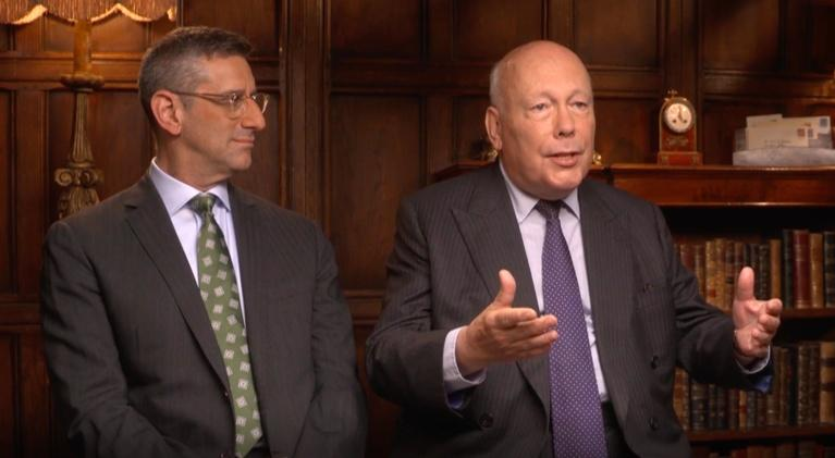 "Flicks: Julian Fellowes & Michael Engler for ""Downton Abbey"""