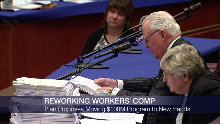 Chicago Tonight: Plan Proposes Moving Workers' Comp Program to New Hands