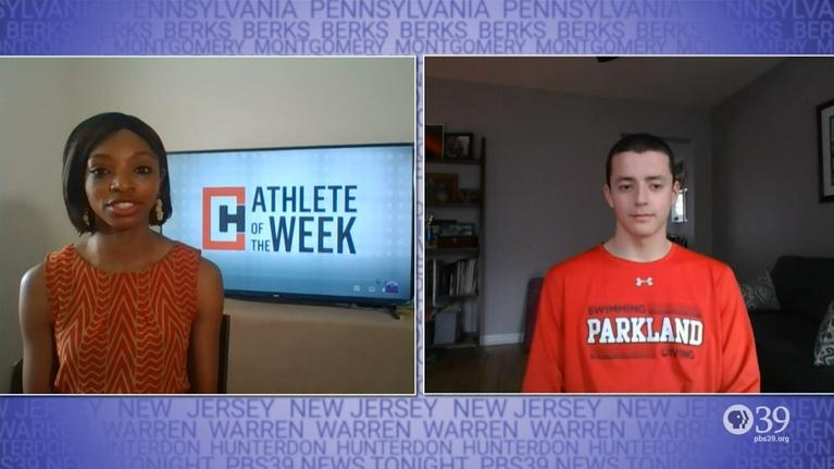 WLVT Athlete of the Week: Male Athlete of the Week Gavin Webb