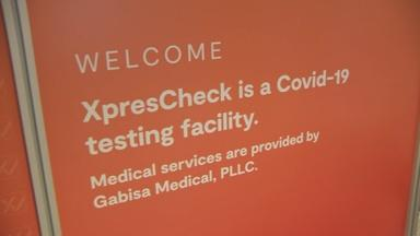 New COVID-19 testing center opens at Newark Airport