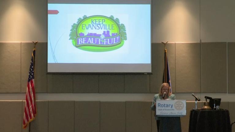 Evansville Rotary Club: Regional Voices: Keep Evansville Beautiful