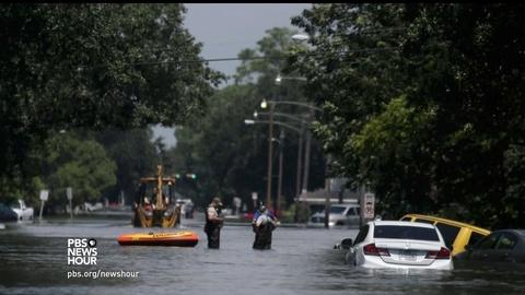 PBS NewsHour -- 'I've never seen this much water,' says La. congressman