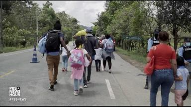 Migrants face militaries, kidnappers on journey to America