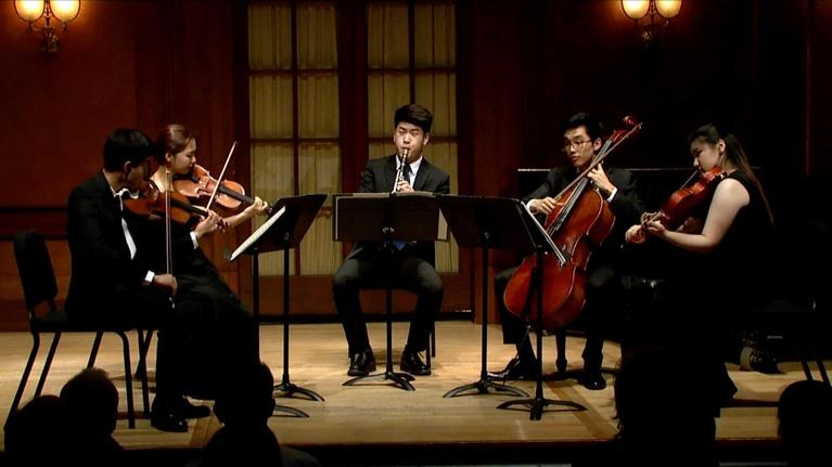On Stage at Curtis: Mozart Quintet, Ibert's Histoires, Amit Melzer