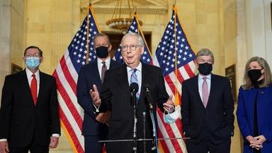Sen. McConnell on COVID aid, election reform and filibusters