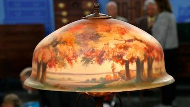 Appraisal: Pairpoint Table Lamp, ca. 1905