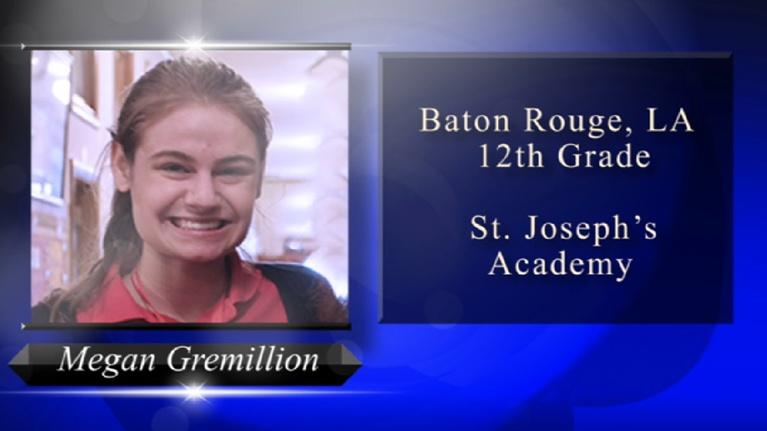 Louisiana Young Heroes: 2018 Louisiana Young Heroes - Megan Gremillion