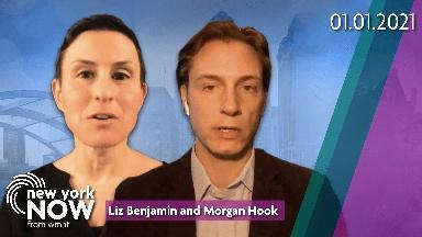 Political Insiders Morgan Hook and Liz Benjamin