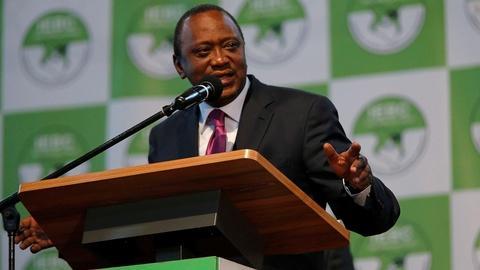 PBS NewsHour -- News Wrap: Kenyan president wins second term