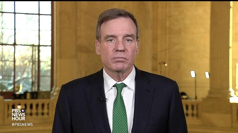 PBS NewsHour: Sen. Warner has 'legitimate questions' on Trump and Russia