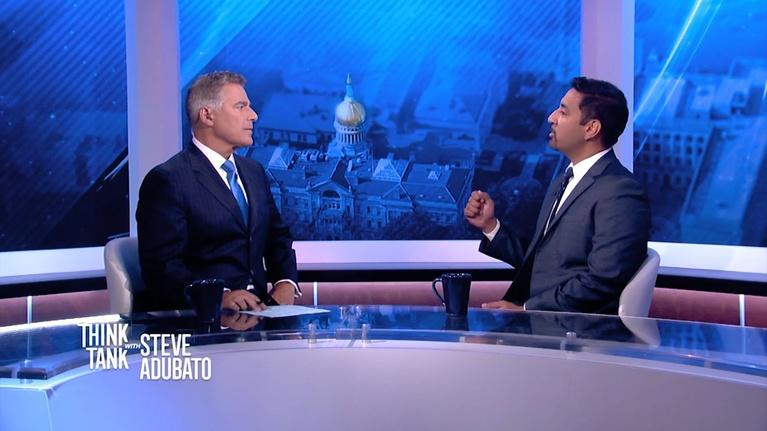 Think Tank with Steve Adubato: David Robinson; Anthonly Russo; Dr. Waseem Bhatti