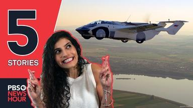 Flying cars, why 4-day work weeks work | 5 STORIES
