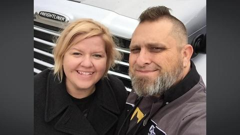 A truck-driving couple on surviving COVID-19