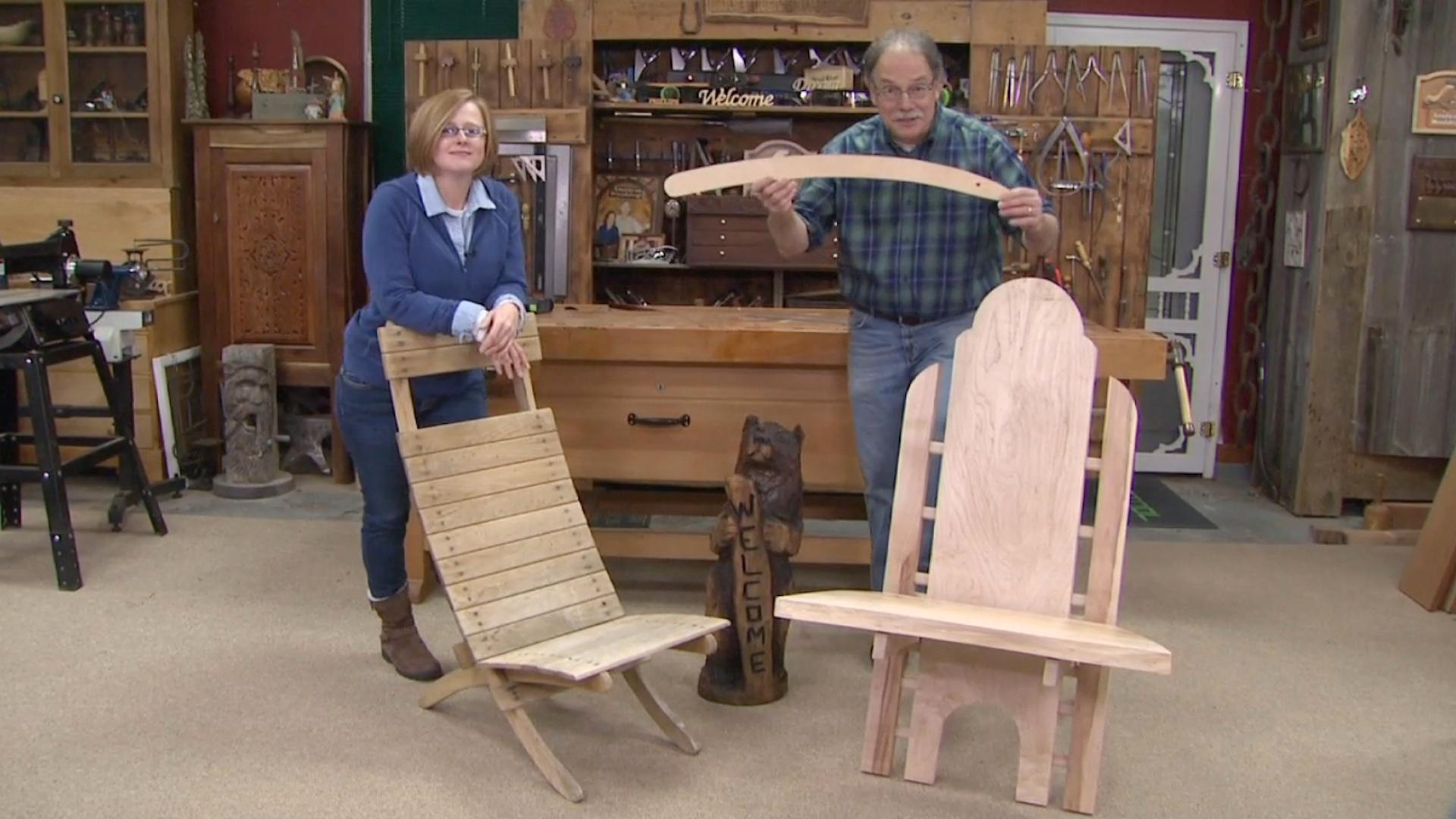 Video Ultimate Outdoor Chair Watch American Woodshop