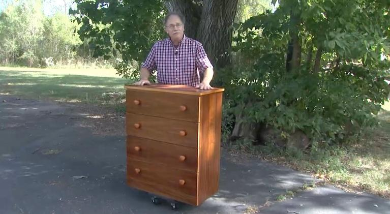 American Woodshop: Furniture Bank of Central Ohio Chest