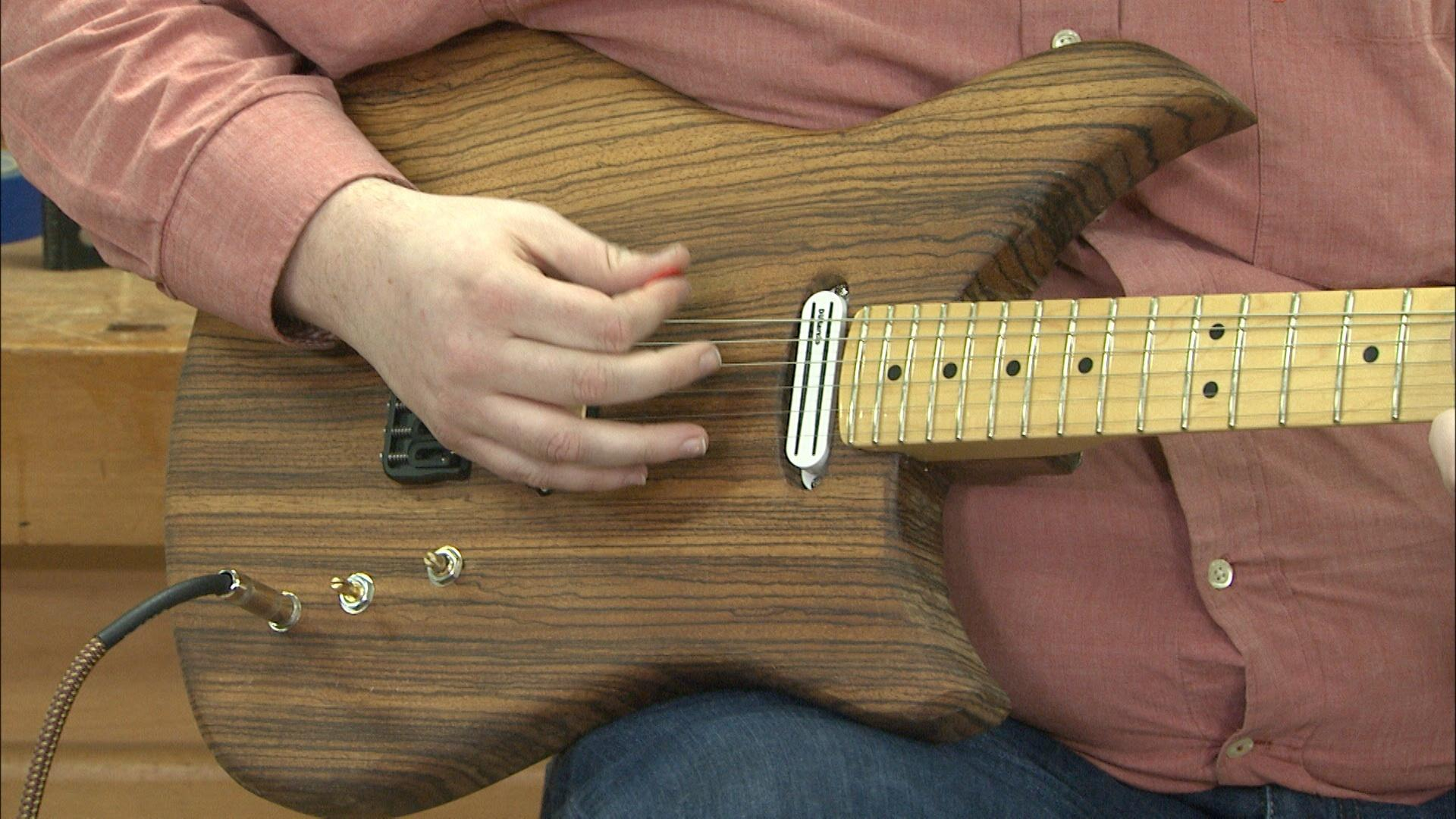 Making Electric Guitars With Hard Maple Bodies American