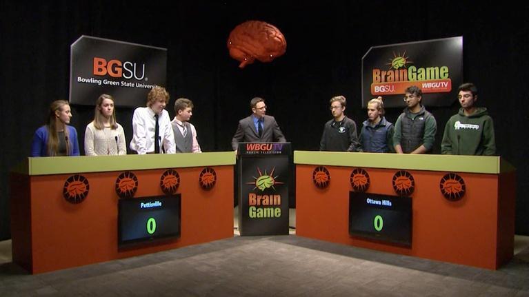 BGSU Brain Game: Pettisville vs Ottawa Hills (2016-2017)