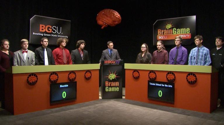 BGSU Brain Game: Riverdale vs Toledo School for the Arts (2016-2017)