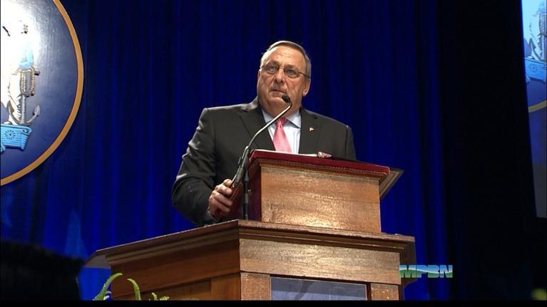 MPBN News: Inauguration of Gov. Paul LePage (R), January 7, 2015