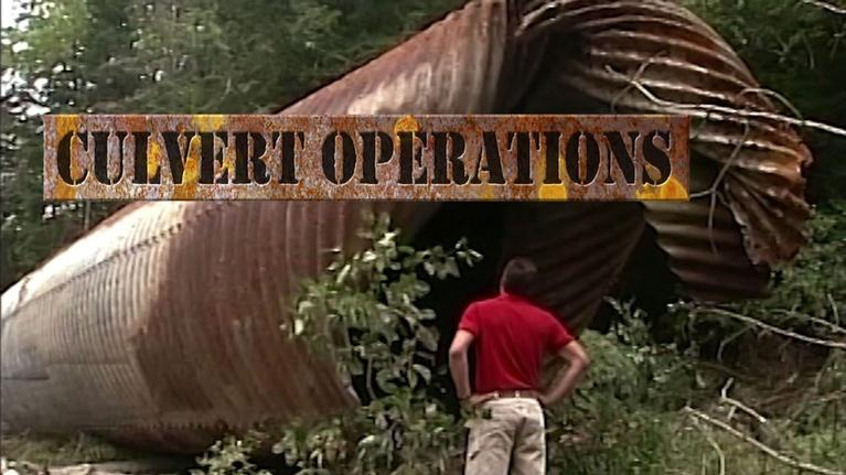 Sustainable Maine: Culvert Operations