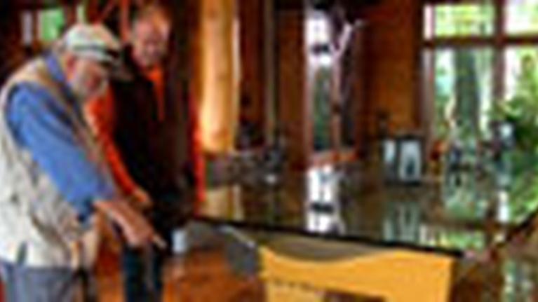 Rustic Living: Contemporary Rustic/Futuristic Rustic Furniture
