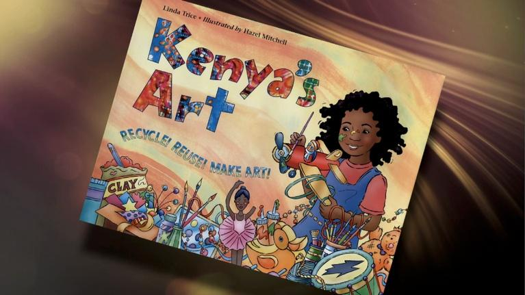 The Children's Bookshelf: Kenya's Art