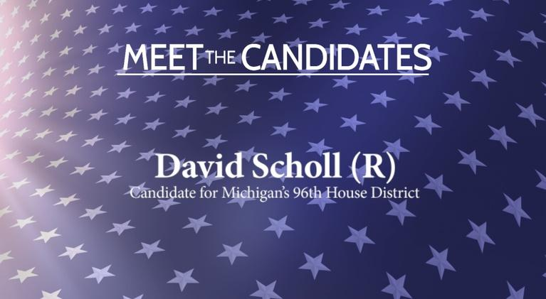 Meet the Candidates on CMU Public Television: Meet the Candidates: David Scholl