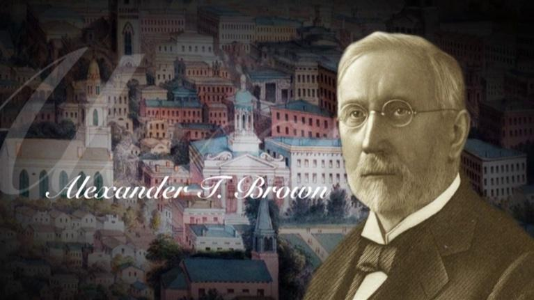 WCNY Series: CNY History Minutes Alexander T. Brown