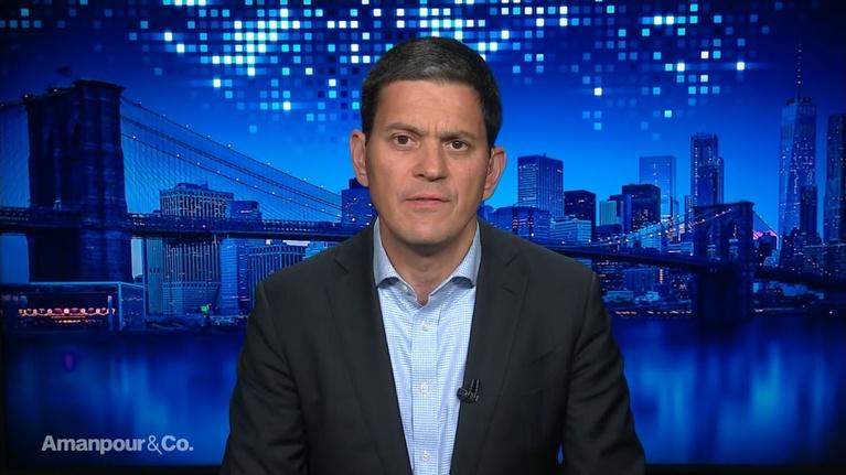 Amanpour and Company: David Miliband on the Attack on Saudi Oil Installations