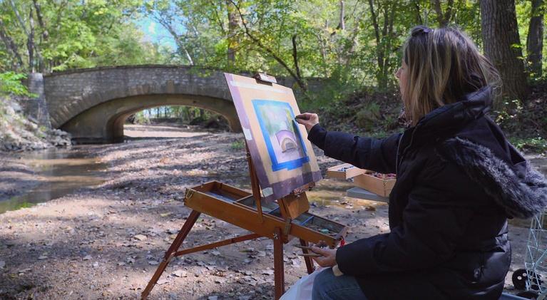 Iowa Outdoors: Iowa State Parks Artists