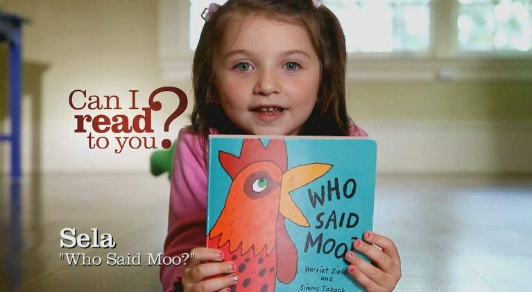 Can I Read To You?: Who Said Moo?