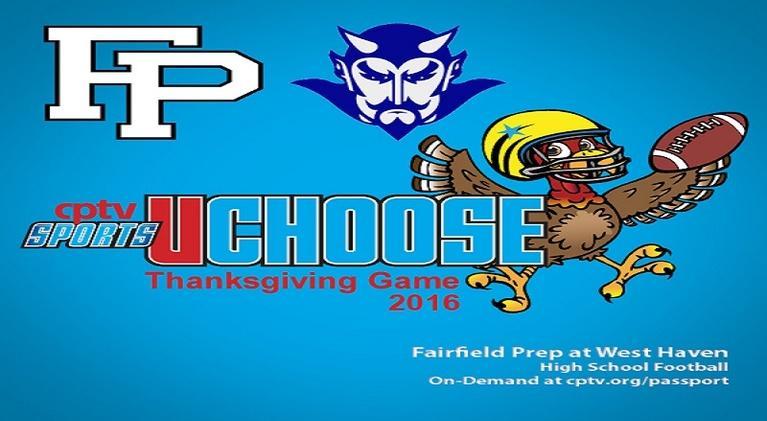 Football: High School Football: Fairfield Prep v West Haven (11/24/16)