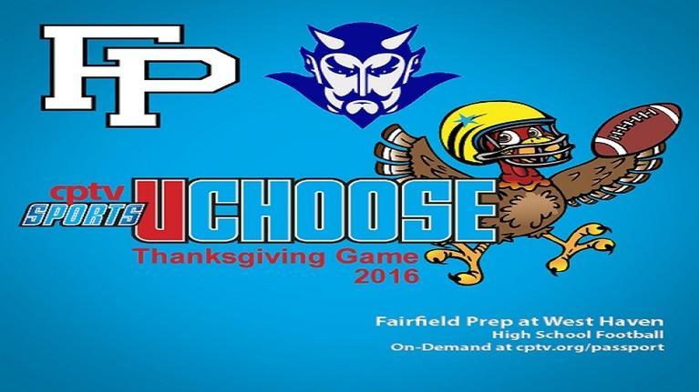 CPTV Sports Archive: High School Football: Fairfield Prep v West Haven (11/24/16)