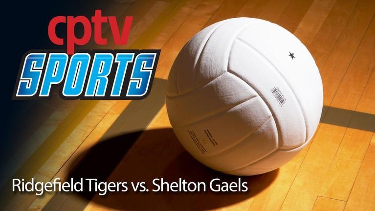 Volleyball: Boys Volleyball Ridgefield v Shelton (04/11/16)