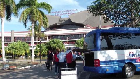Arriving in Cuba