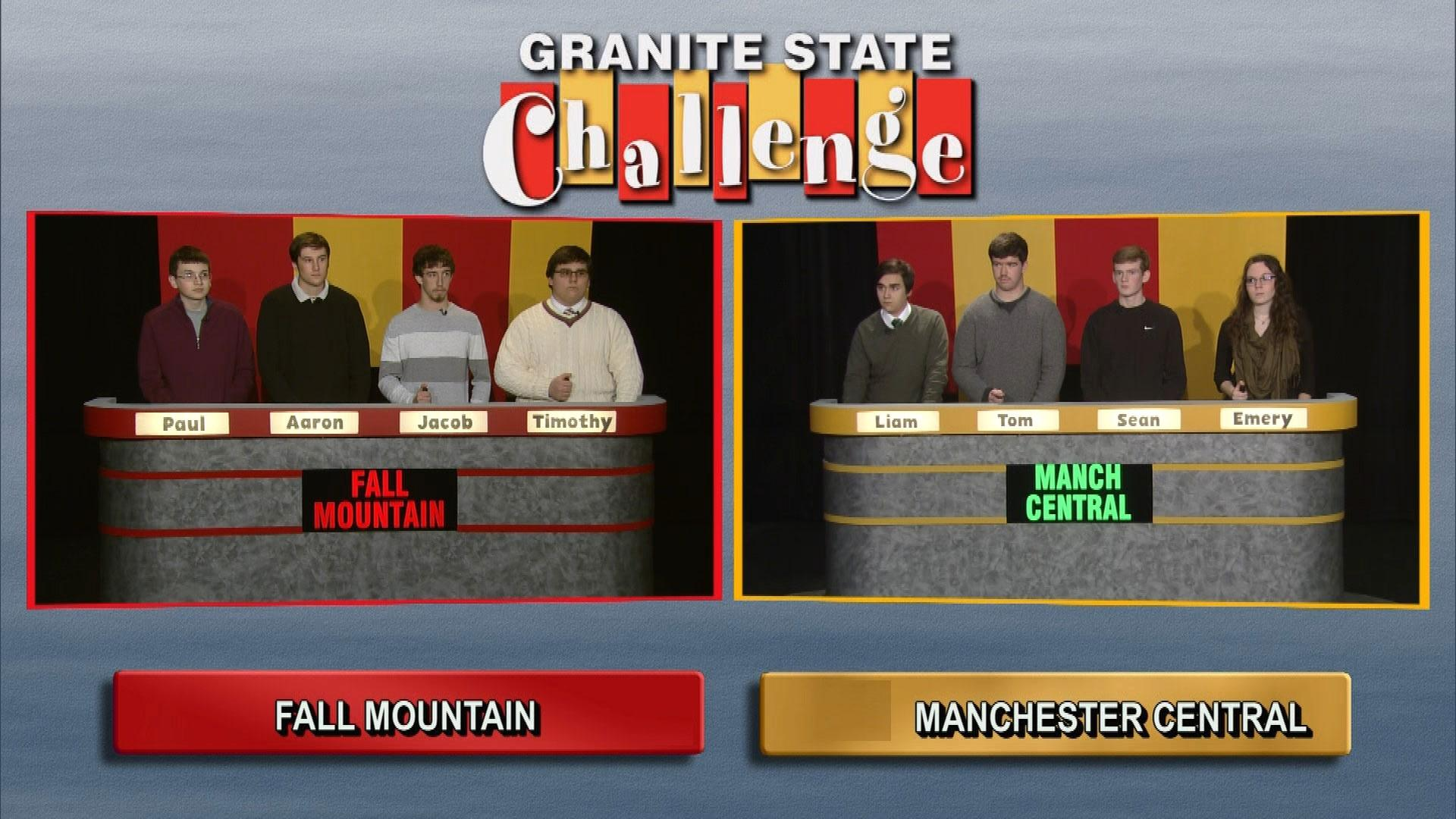 Manchester Central Vs. Fall Mountain Regional