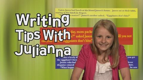 Writing Tips With Julianna  Starting Your Story