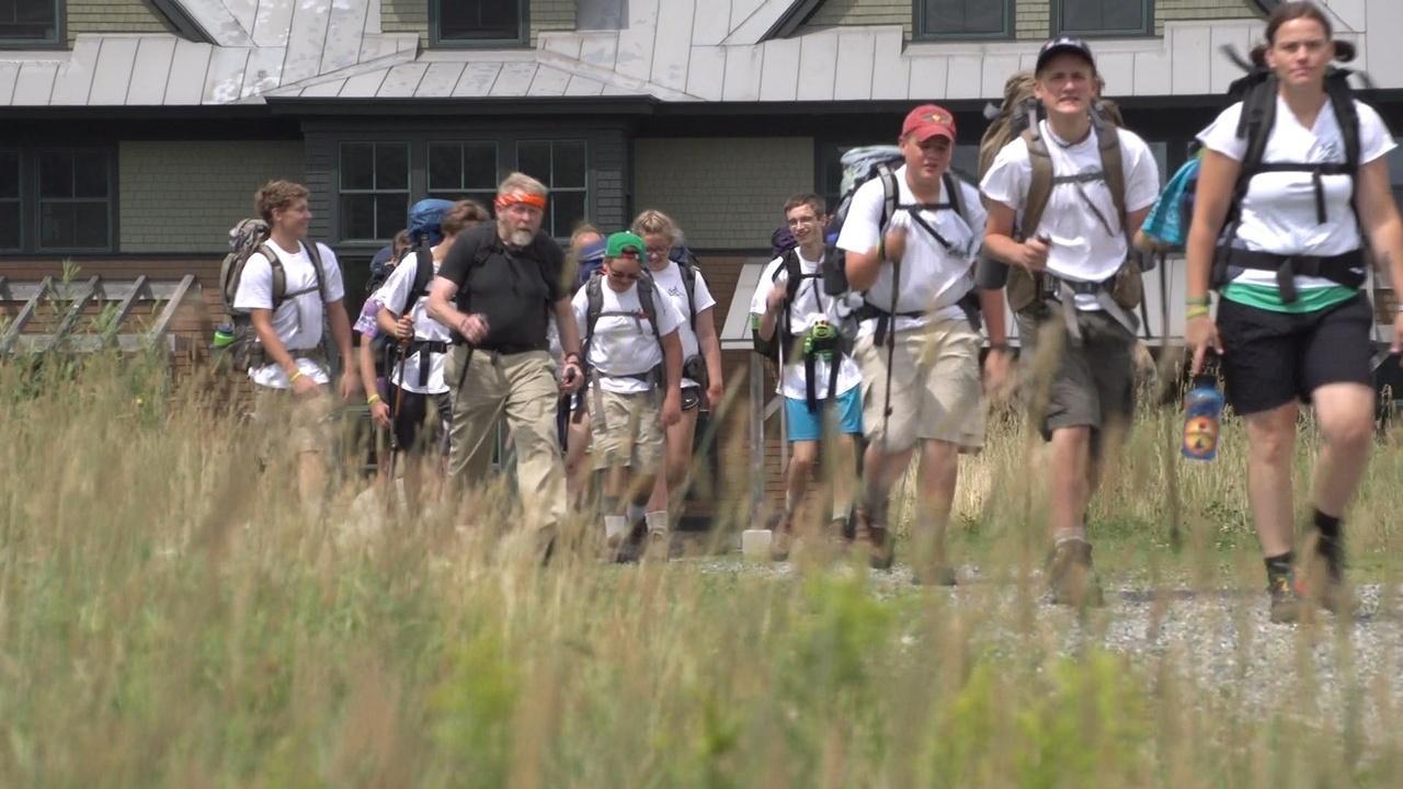 On Belay Kids Hike