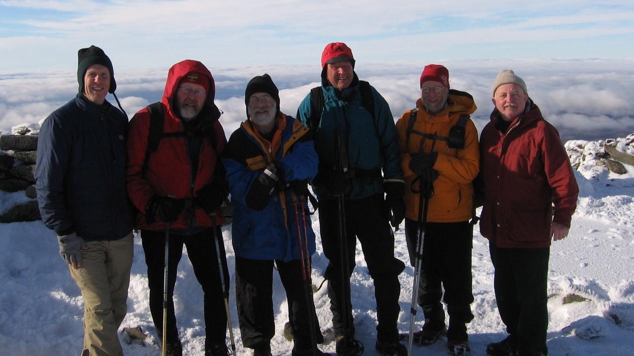 New Year's Moosilauke Hike