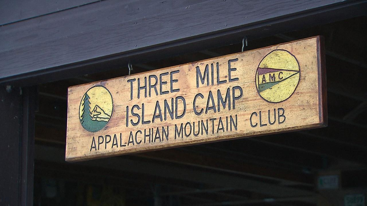 Camping on Three Mile Island