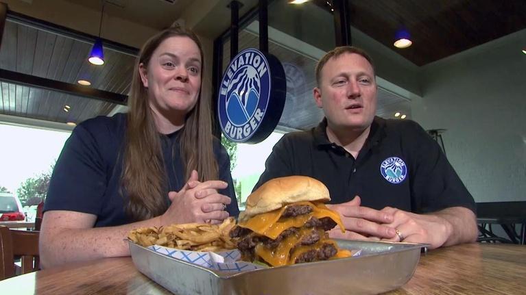 Burgers in Washington: Burgers in Washington: Elevation Burger