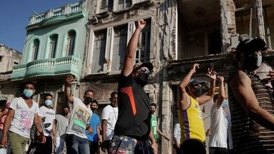 Cuban Protests & The Latest on COVID-19