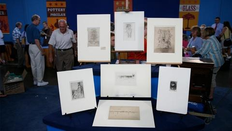 Antiques Roadshow -- Appraisal: James McNeill Whistler Etchings & Drypoints