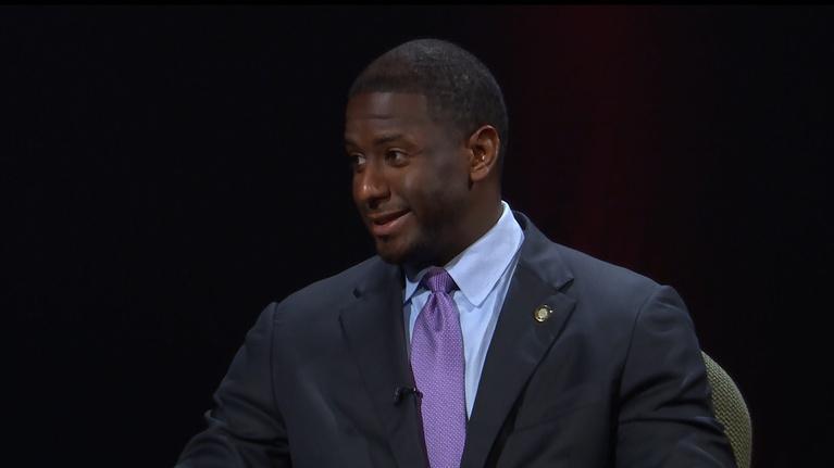 WFSU American Graduate: Tallahassee Mayor Andrew Gillum Talks Kids and Education