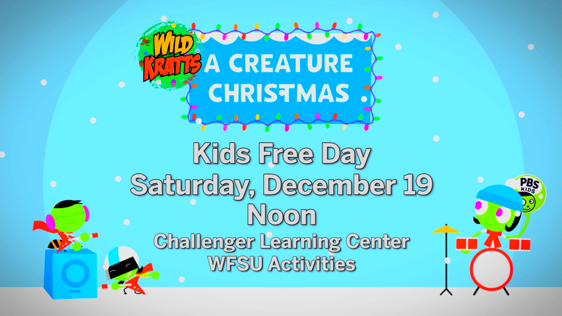 Big Screen Showing of Wild Kratts Holiday Special