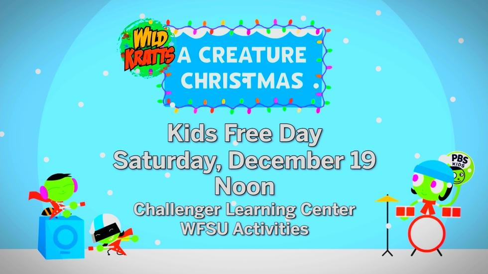 Big Screen Showing of Wild Kratts Holiday Special image