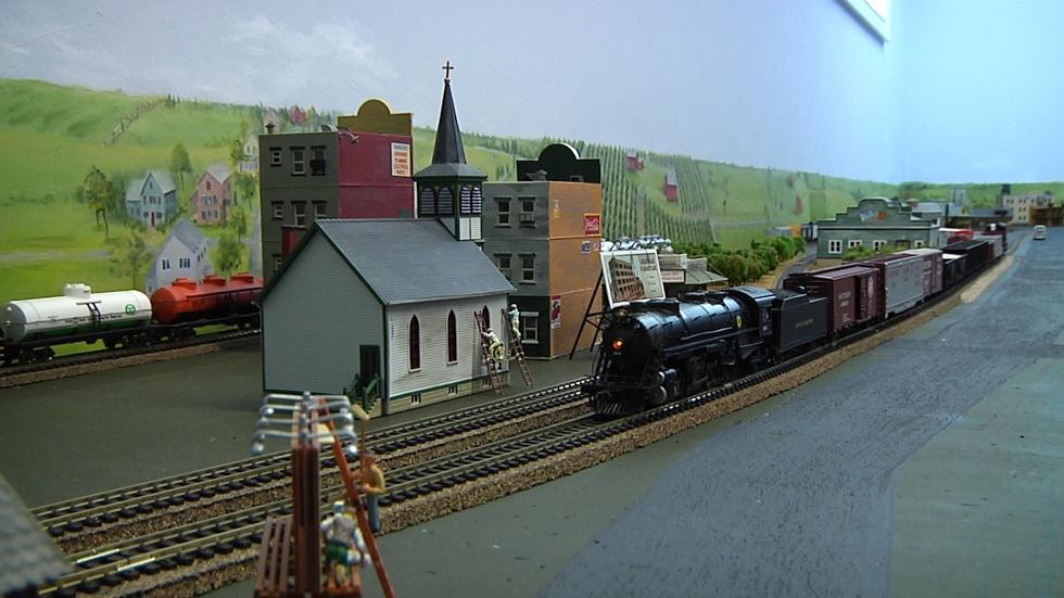Model Railroading image