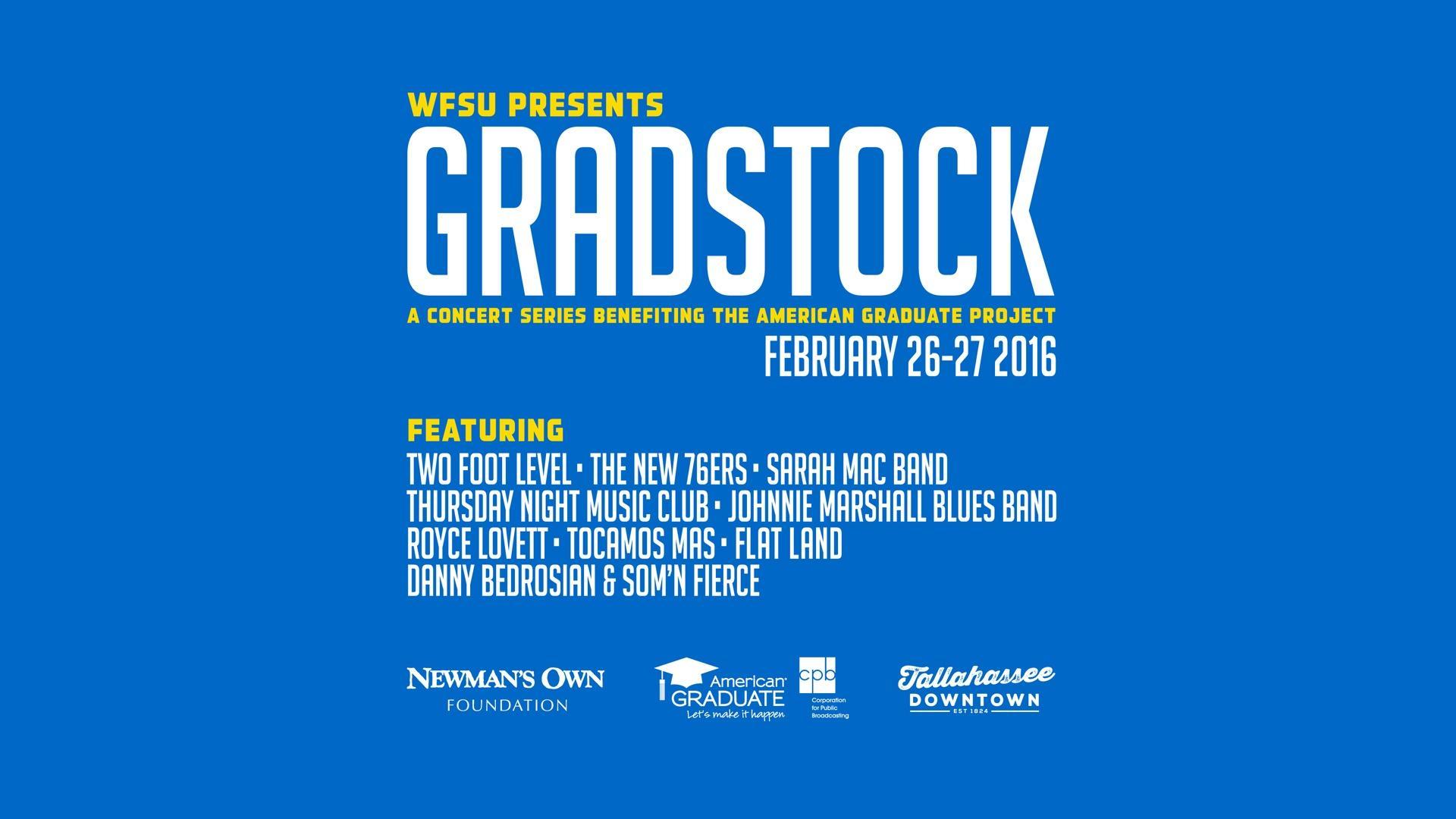 GRADSTOCK: A Concert Series Benefiting American Graduate