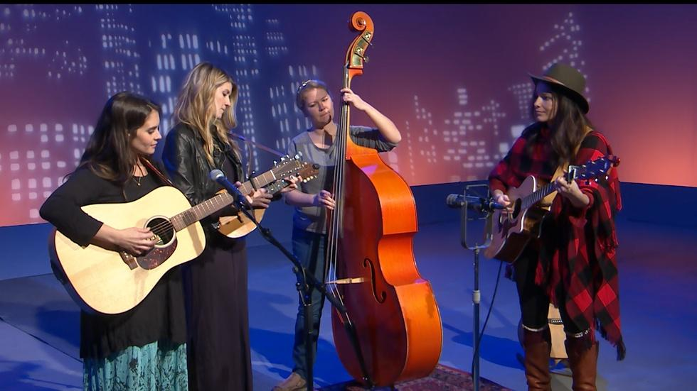 """The Krickets Perform their Song """"Sweet Home"""" image"""